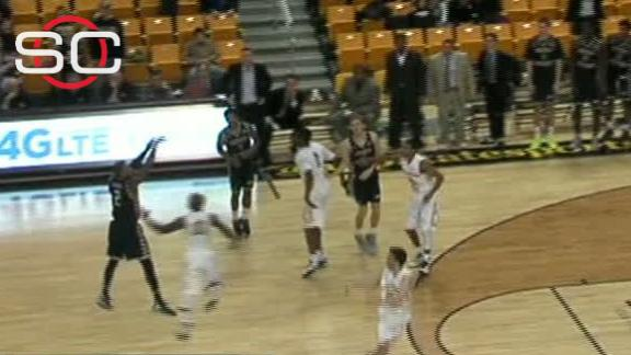 Georgia Southern wins on 4-point play