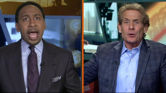 Video - Skip, Stephen A's epic screaming match over Belichick