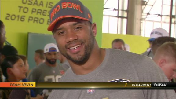 Russell Wilson becomes a top pick...in the Pro Bowl