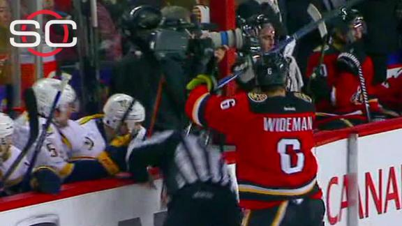 Suspension looming for Wideman after ref hit?