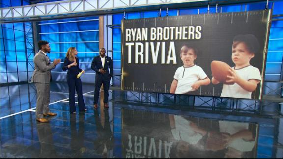 Video - McCoy plays Ryan brothers trivia