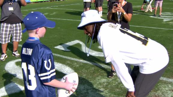 Video - Two wishes granted at the Pro Bowl