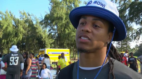 Video - Verrett just focused on playing