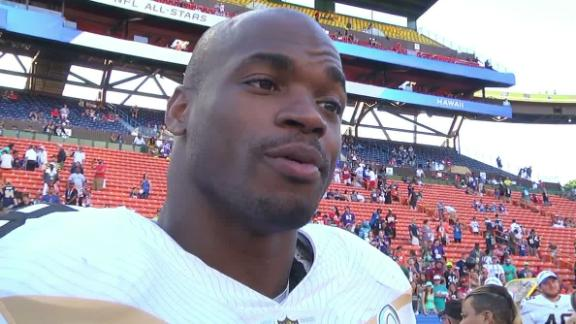 Video - Peterson on Megatron: 'I know he has a lot of football left in hi...