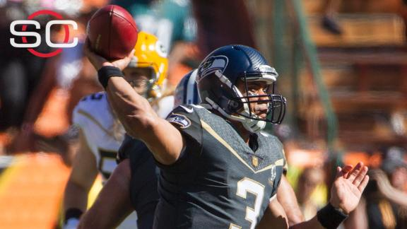 Wilson throws for three scores in Team Irvin's Pro Bowl win