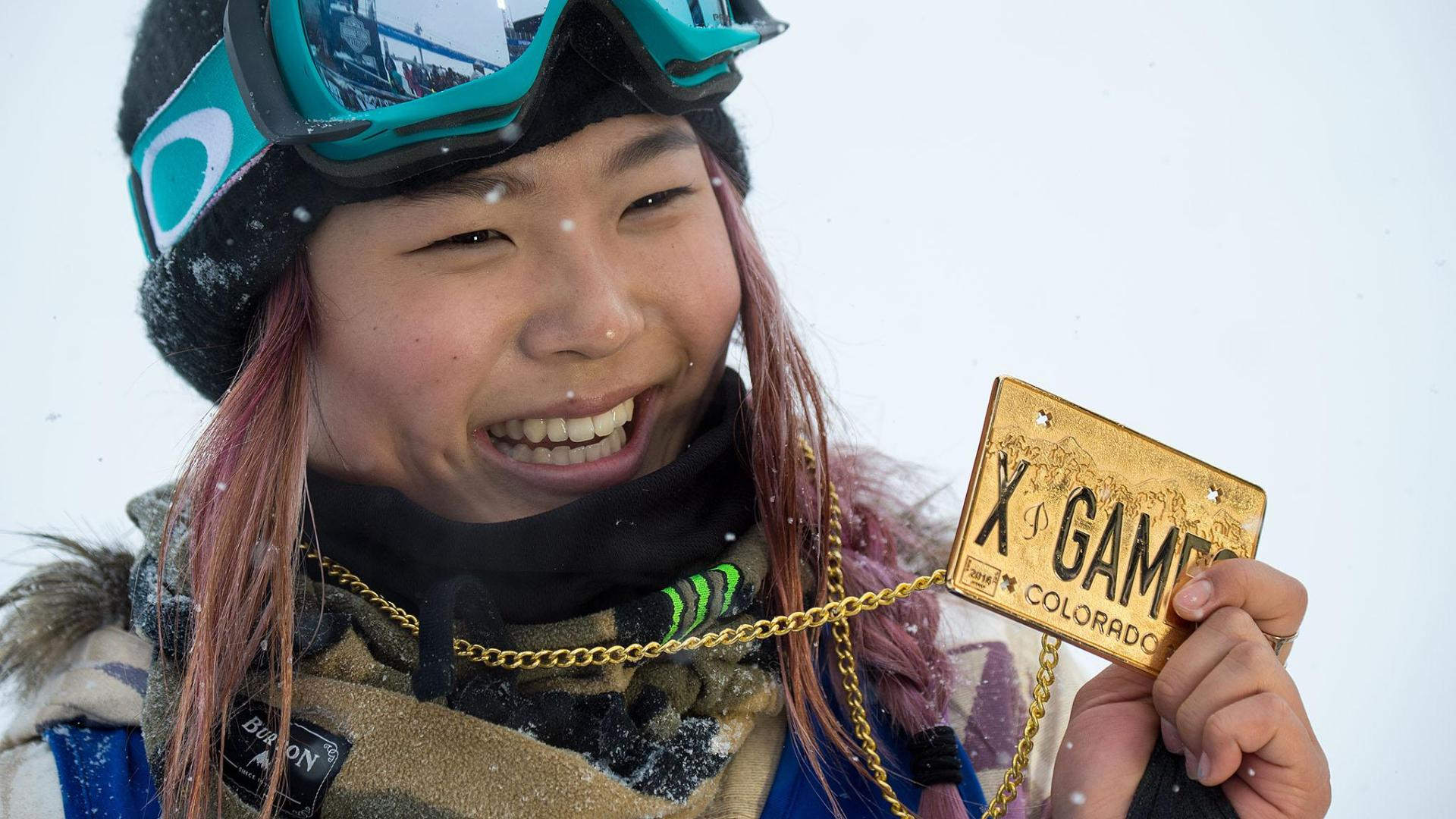 2016 a year of firsts for x games snowboarder chloe kim