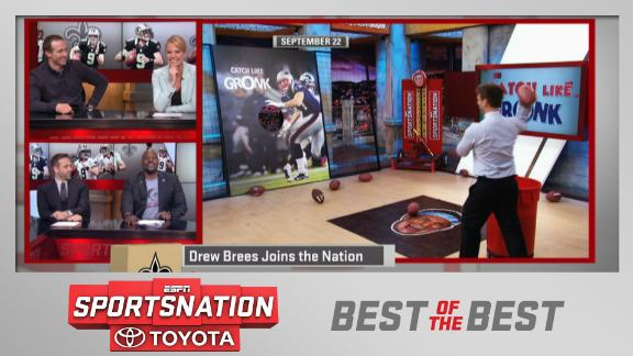 Video - Brees criticizes Kellerman's throwing ability
