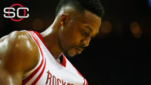 Why Dwight Howard was suspended