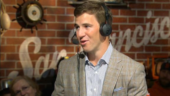 Video - Eli and McAdoo's trouble with words