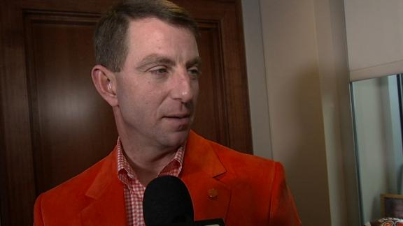 Swinney: 'We got better today'