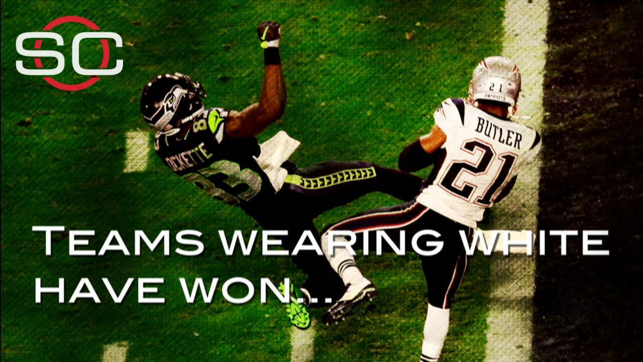 Video - White uniforms key to winning Super Bowl?