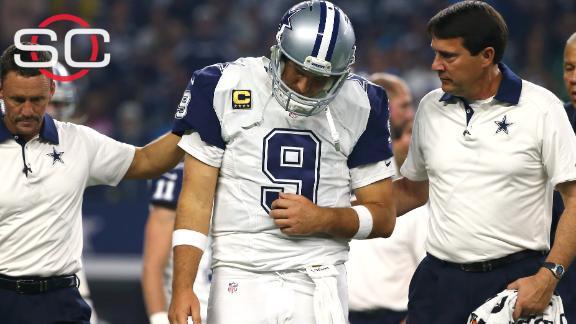 Video - Tony Romo to wait on surgery
