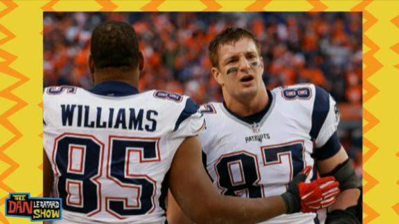 Video - Key words to distract Gronk at the line