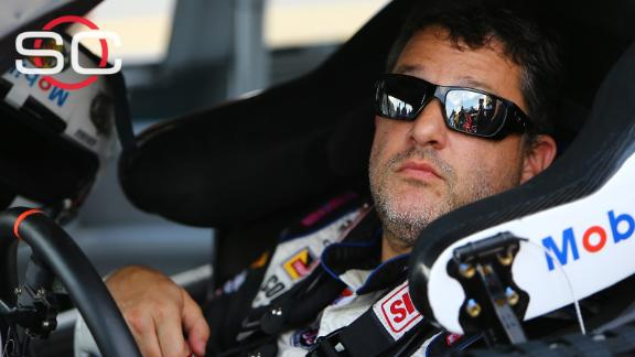 Broken back impacting Stewart's final Sprint Cup season