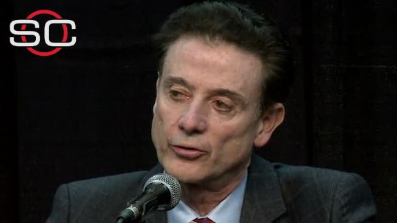 Pitino: 'This penalty is quite substantial'