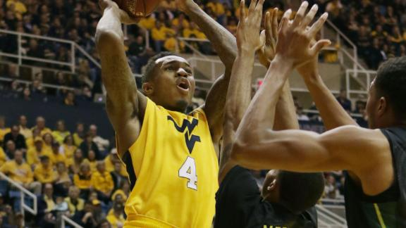 West Virginia pulls away from Baylor
