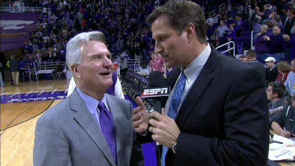 Weber explains Kansas State's taking down No. 1