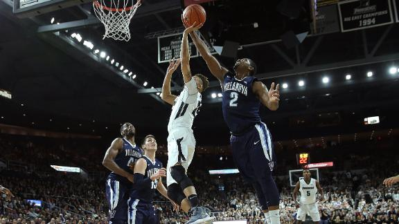 Villanova No. 1 in AP hoops poll for first time