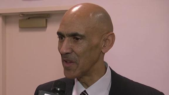 Video - Tony Dungy elected to Pro Football Hall of Fame