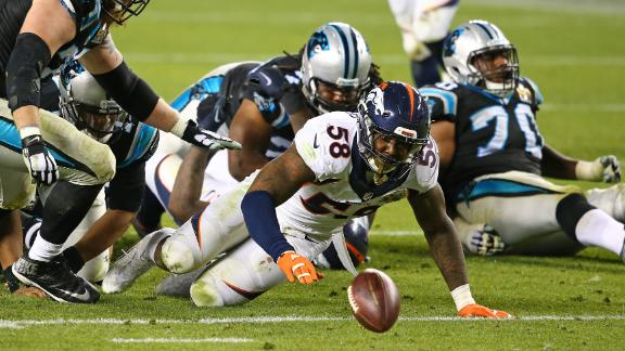 Newton fumbles in fourth quarter