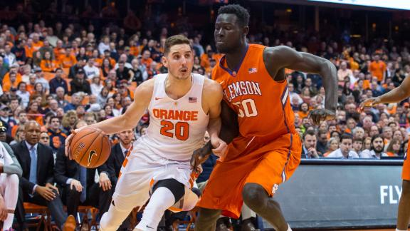 Bracketology: Cuse in, Clemson out