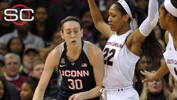 UConn women too much (again) for South Carolina