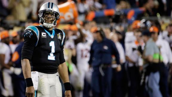 McElroy on Newton quitting on team during Super Bowl 50