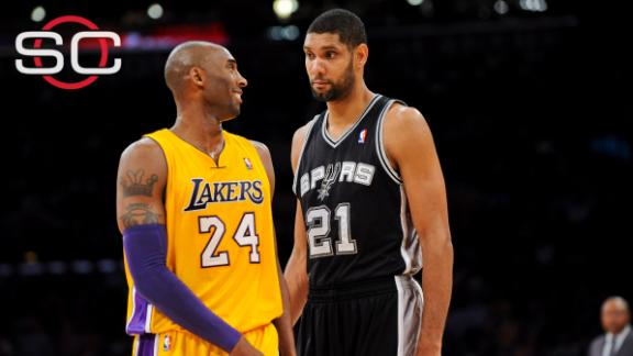 Magic chooses Kobe over Duncan