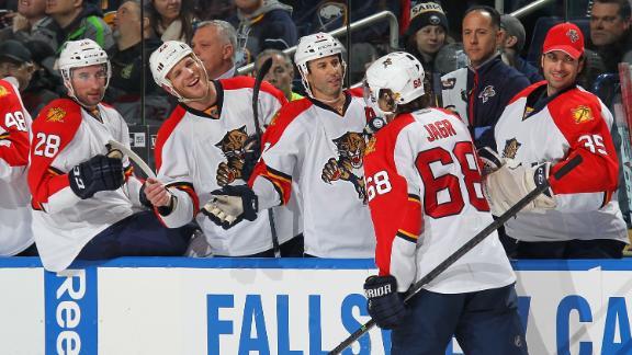 Panthers crush Sabres