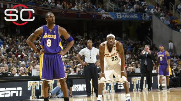 Kobe's memorable moments in Cleveland