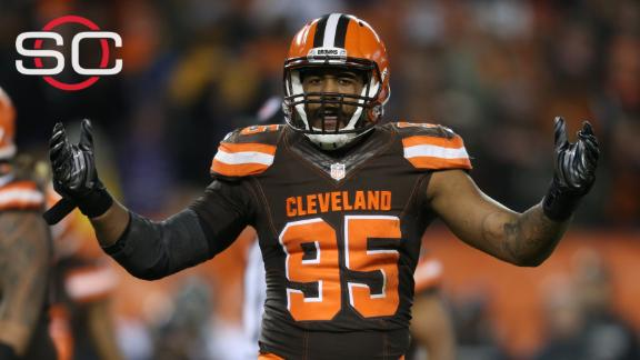 Video - Browns DE Bryant indicted on felony drug charges