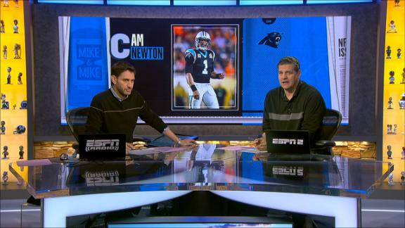 Golic, Greeny critical of Newton's 'sore loser' comments