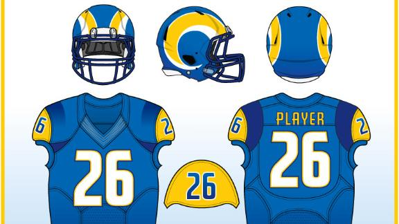 Video - Uni Watch: Redesigning the Rams' uniforms