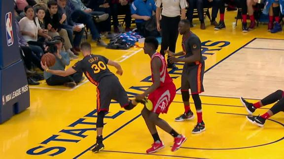 Curry sparks electrifying sequence