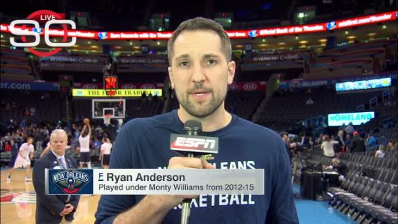 Ryan Anderson devastated by loss of Ingrid Williams