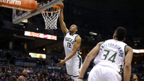Bucks head into break with victory over Wizards
