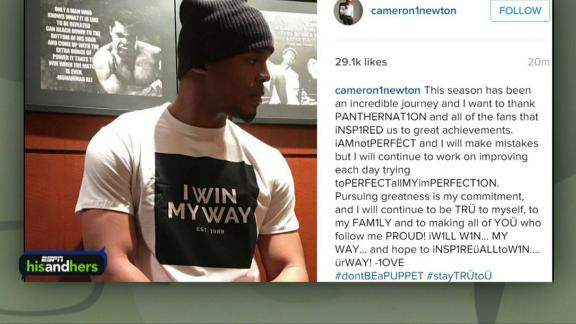 Was Cam's 'I win my way' Instagram post necessary?