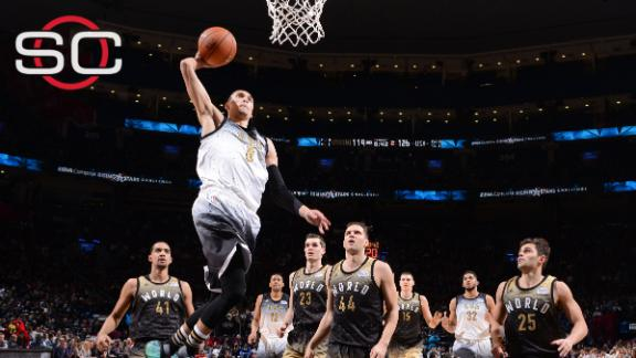 LaVine, USA win Rising Stars Game