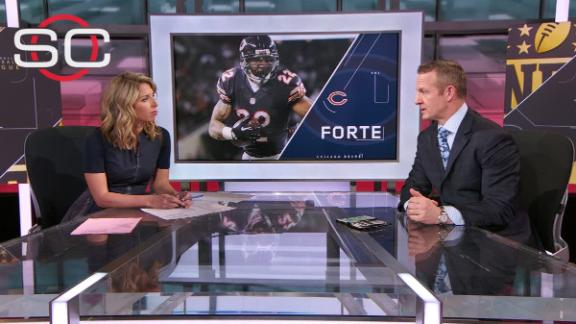 RB Forte, Bears parting ways after 8 seasons