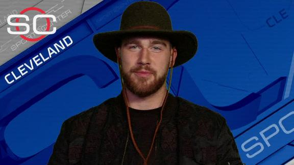 Video - Kelce happy to be staying with Chiefs