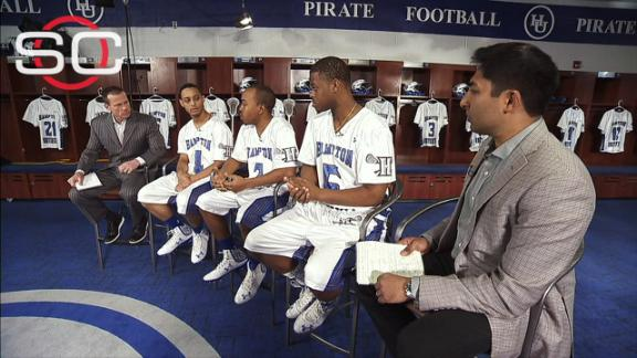 Hampton lacrosse players excited for opportunity