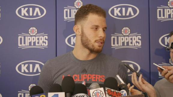 Griffin quiet about trade rumors