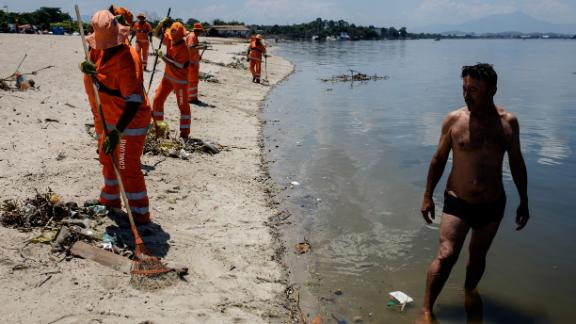 Rio Games dealing with polluted water