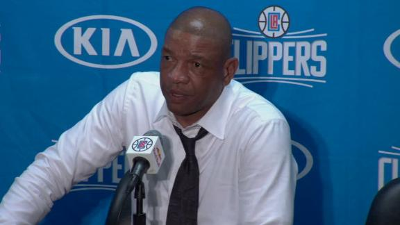 Rivers on Monty Williams' wife's funeral: Tough day emotionally