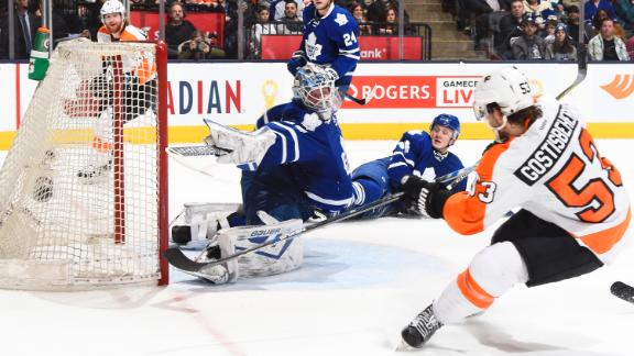 Gostisbehere extends points streak to 15 games