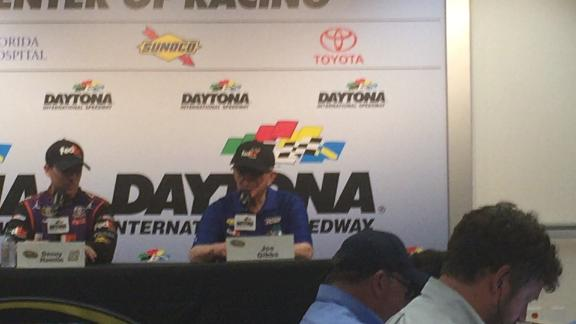 Busy day for Joe Gibbs Racing