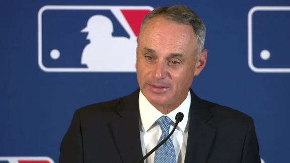 Manfred taking 'careful consideration' in domestic violence cases
