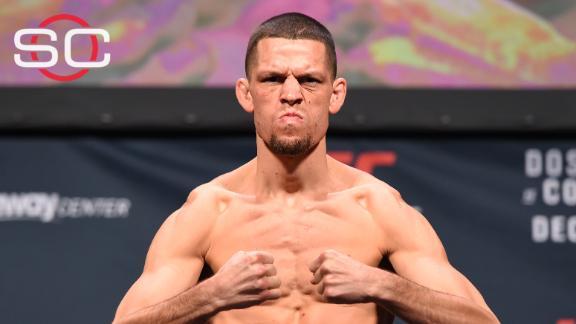 Nate Diaz in for dos Anjos against McGregor at UFC 196