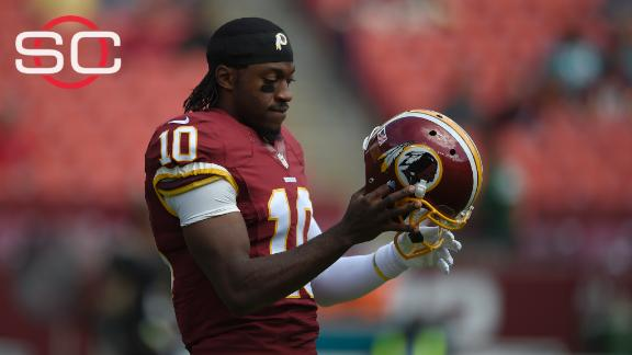 Bettis: RG III has to want to be a backup