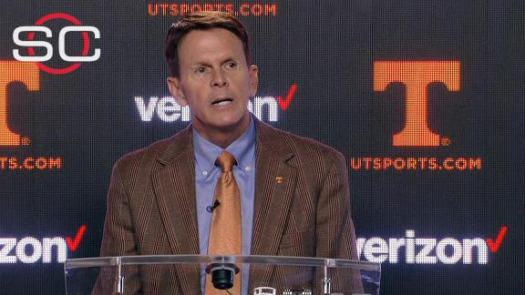 Tennessee AD: 'I care deeply about our student body'
